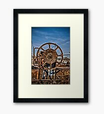 Heavy Duty Reel Framed Print
