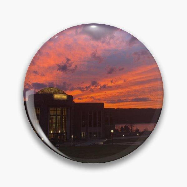 Sunset on the Marist Horizon Pin