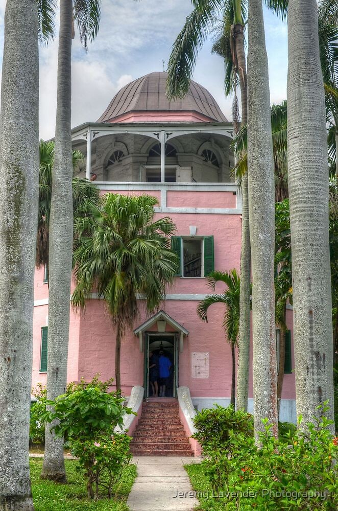 The Public Library in Downtown Nassau, The Bahamas by Jeremy Lavender Photography
