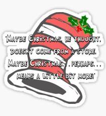 Dr Seuss: Christmas Cheer Sticker