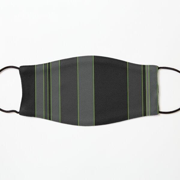 GREEN STRIPES Kids Mask