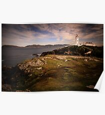 Fanad Head Lighthouse - Donegal Ireland Poster
