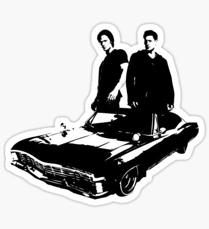 Sam and Dean Sticker