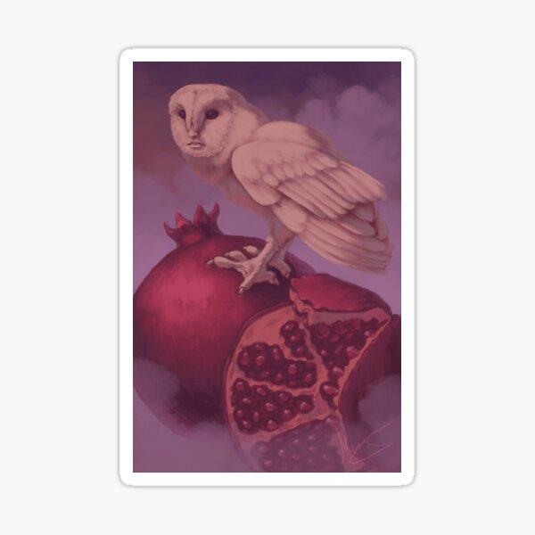 Owl-Woman Oracle: World Card Sticker
