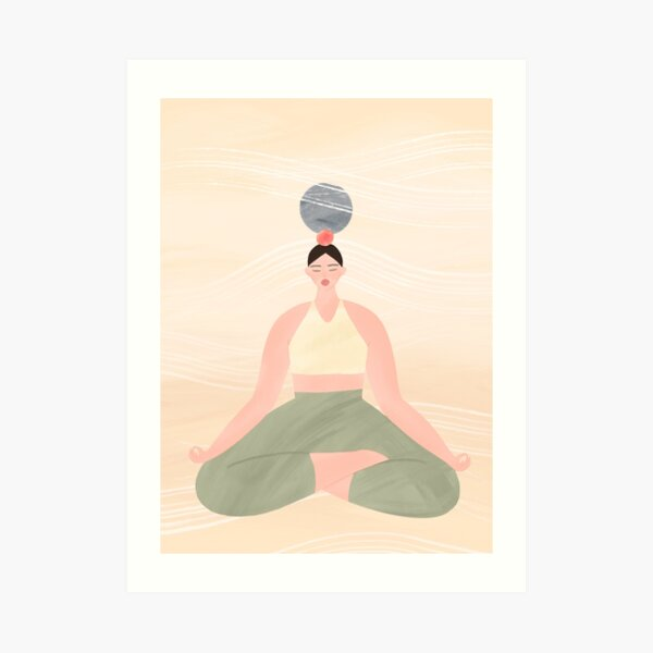 Simple Tranquility Art Print