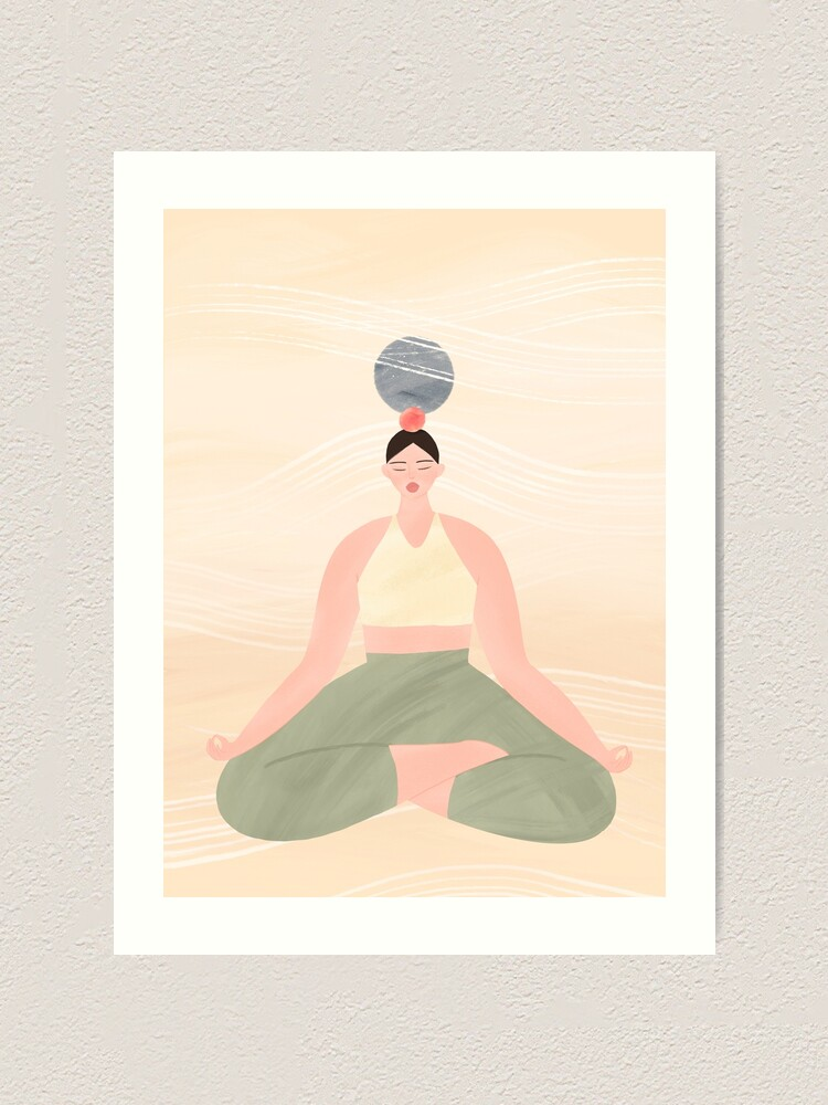 Alternate view of Simple Tranquility Art Print