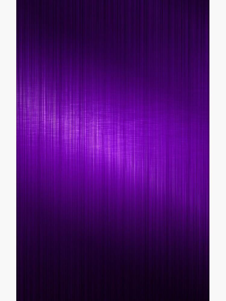 Purple Brushed Aluminum Metallic Look by artonwear