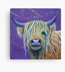 Woolly Bully (Cow) Canvas Print