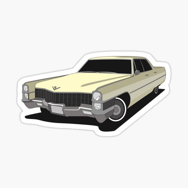 1965 Cadillac Calais Hardtop Sticker