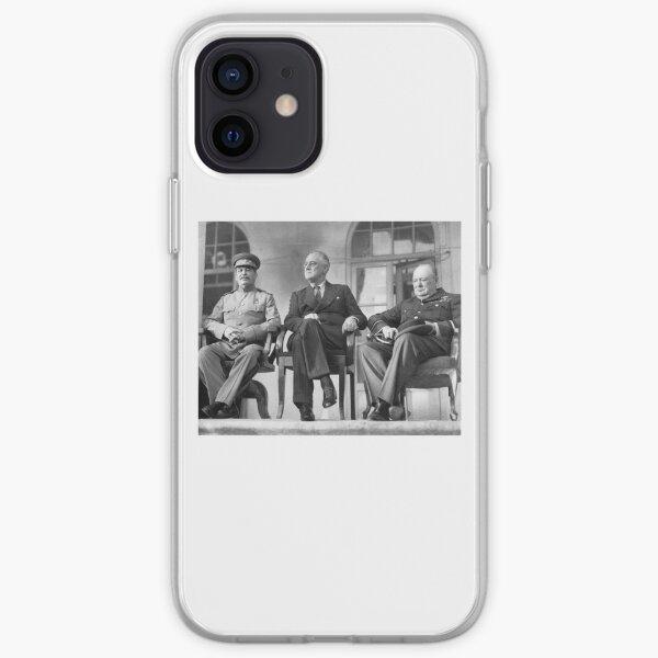 Stalin, Churchill, Roosevelt iPhone Soft Case