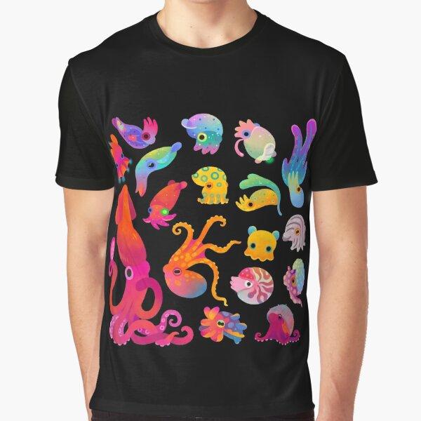 Cephalopod Graphic T-Shirt