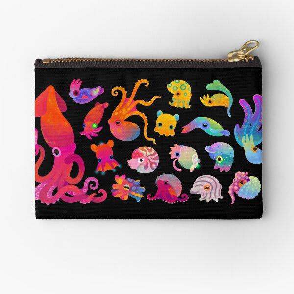Cephalopod Zipper Pouch