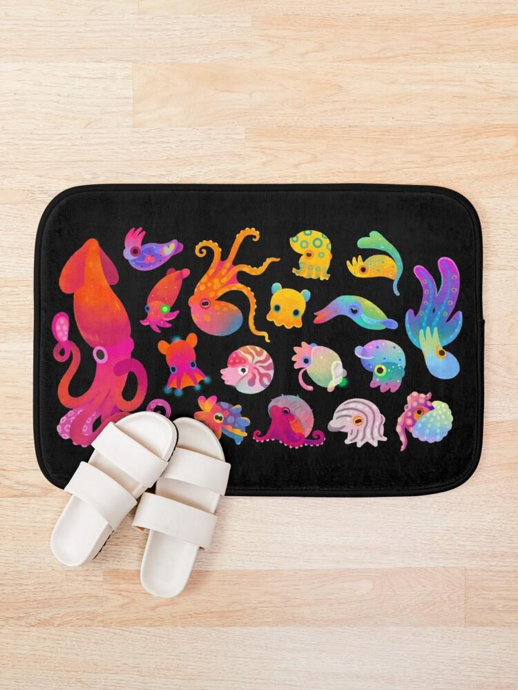 Alternate view of Cephalopod Bath Mat