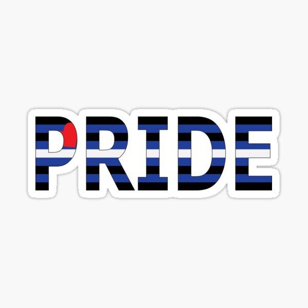 Leather Pride Sticker