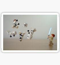 Jedi Circus Sticker