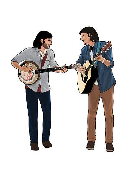 Seth & Scott by Derek Donovan