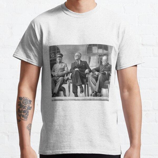 Stalin, Churchill, Roosevelt Classic T-Shirt