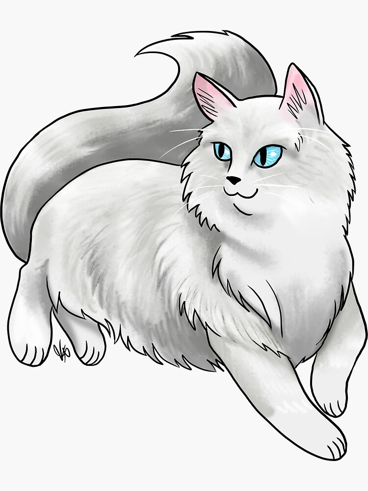 Ragdoll Cat - White by jameson9101322