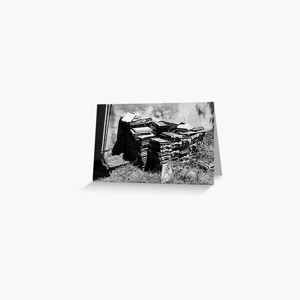 Roof tiles, Tuscany, Italy Greeting Card