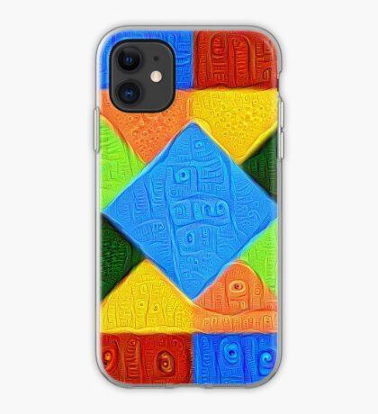 DeepDream Color Squares Visual Areas 5x5K v1447926834 iPhone Case