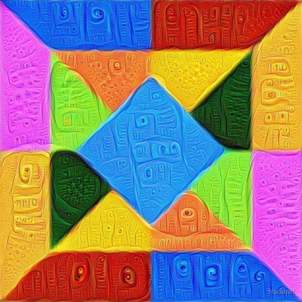 DeepDream Color Squares Visual Areas 5x5K v1447926834 by blackhalt
