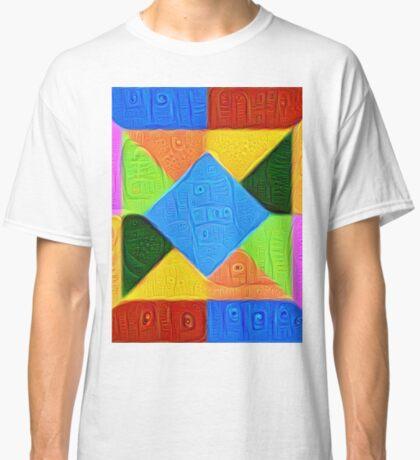 DeepDream Color Squares Visual Areas 5x5K v1447926834 Classic T-Shirt