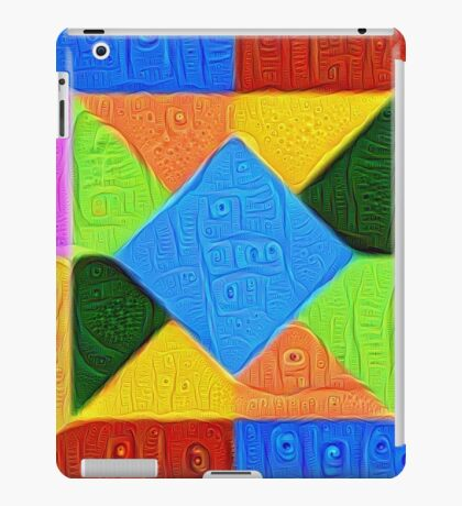 DeepDream Color Squares Visual Areas 5x5K v1447926834 iPad Case/Skin