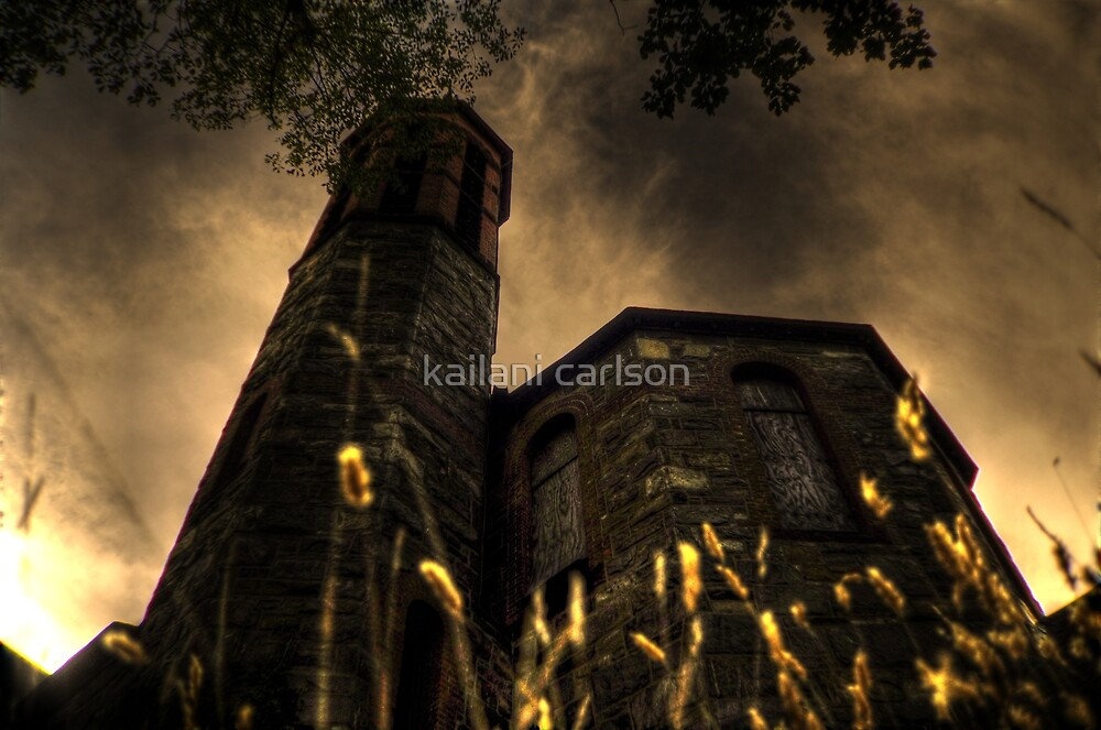 Abandoned Church by kailani carlson