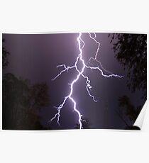 Lightning up close Poster