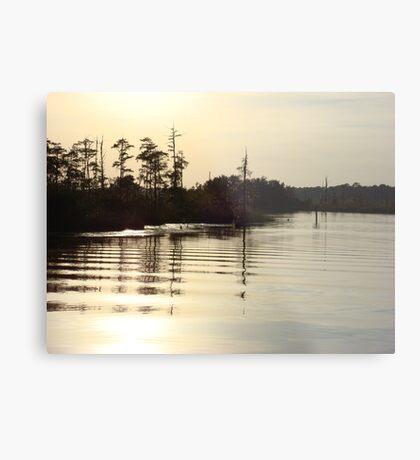 Sunset on Bear Creek 9-25-2012 Metal Print