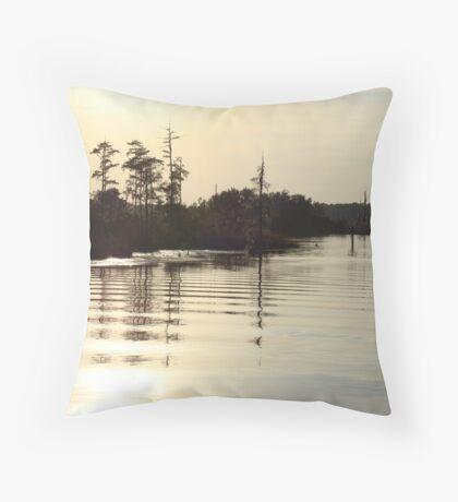 Sunset on Bear Creek 9-25-2012 Throw Pillow