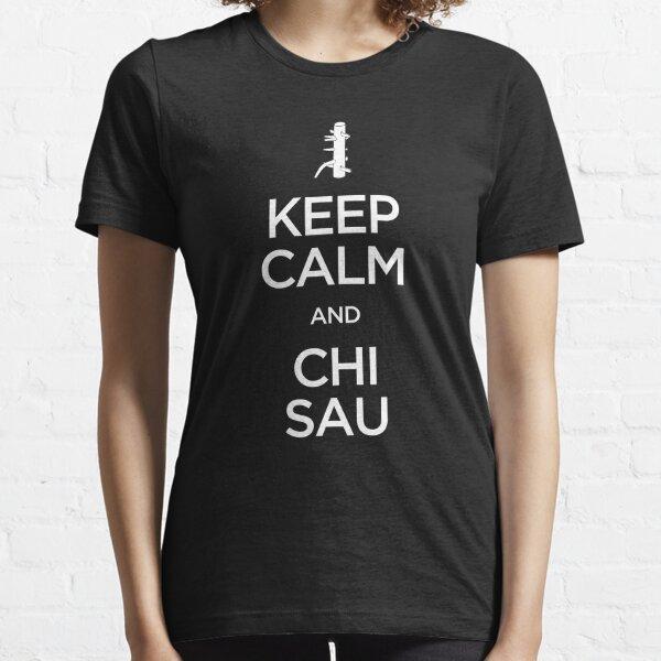 Keep Calm and Chi Sau (Wing Chun) - Light Essential T-Shirt
