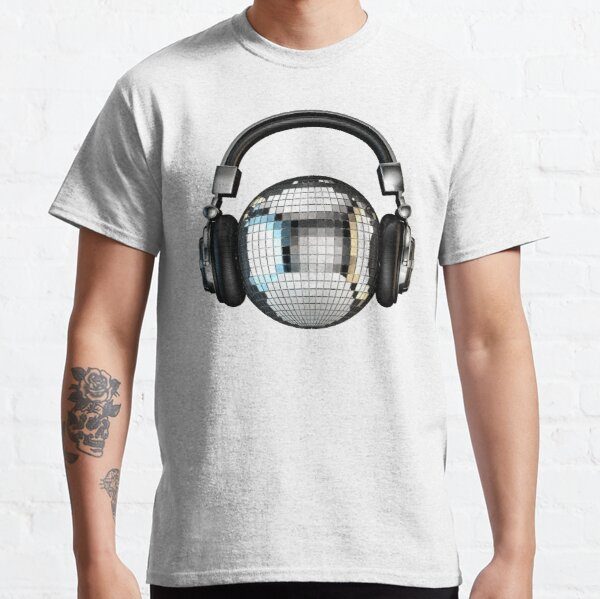 Headphone disco ball Classic T-Shirt