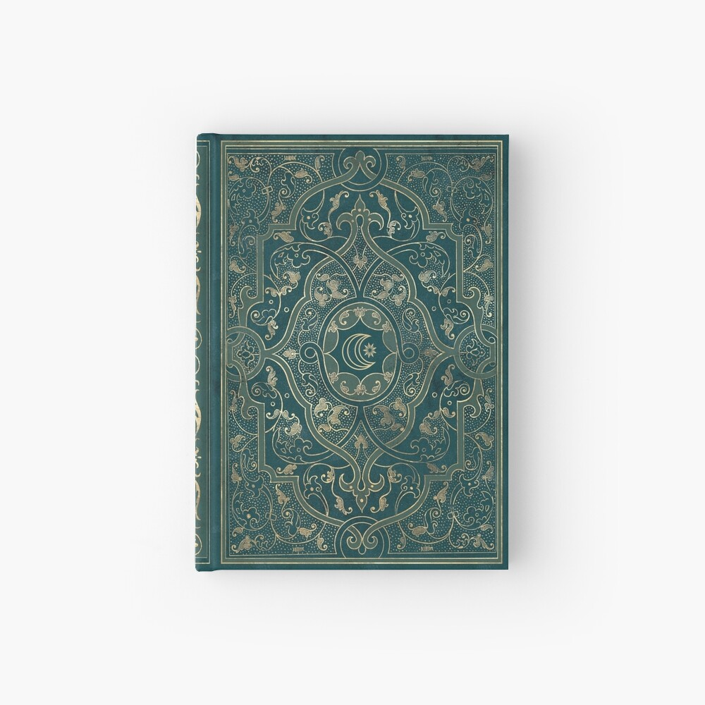 Old magic Hardcover Journal