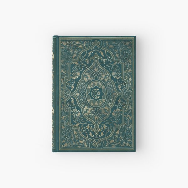 Old magic book grimoire diary Hardcover Journal