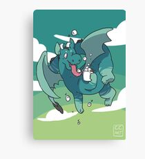 Cocoa Dragon Canvas Print