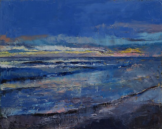 Midnight Blue by Michael Creese