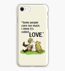I Think it's Called Love iPhone Case/Skin