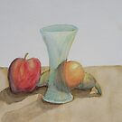 Fruit and Glass by Mark Sherman