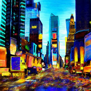 Times Square by Andrea-Meyer