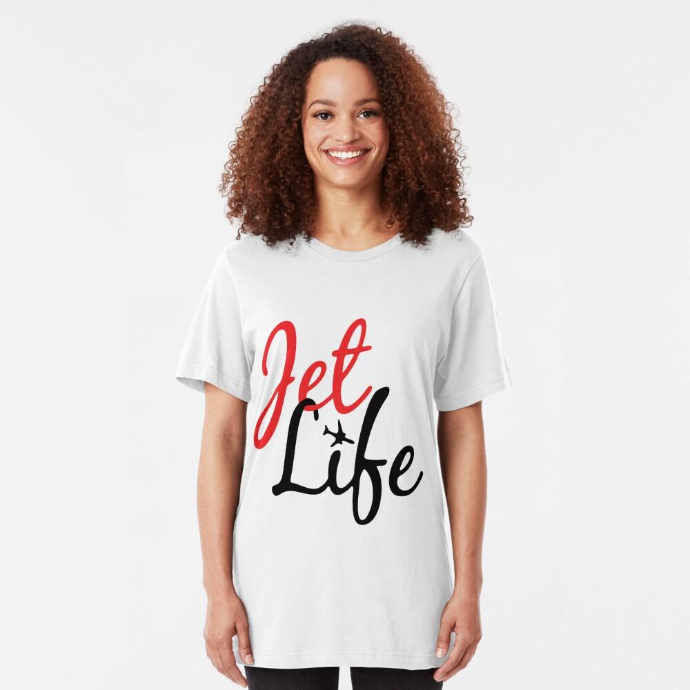Jet Life Clothing Slim Fit T-Shirt