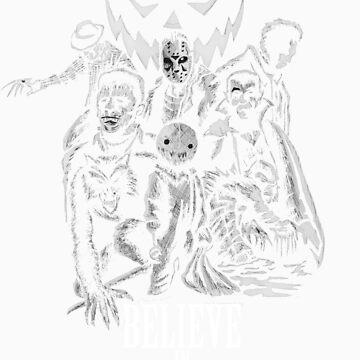 Believe In Monsters by JoeyDeadMan