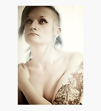 Jen the portrait, the ink the person Photographic Print