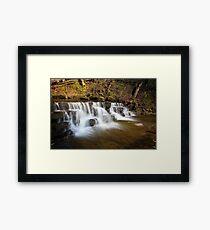 Scalebar Force waterfall, Yorkshire  Framed Print