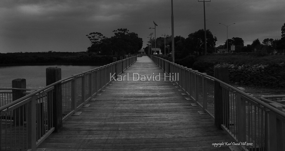 sawtells inlet tooradin 002 by Karl David Hill