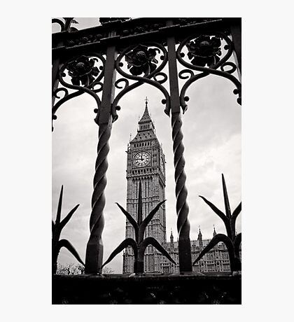 Keeping good time - Big Ben  - London - Britain Photographic Print