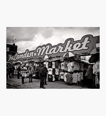 The Camden Market - Britain Photographic Print