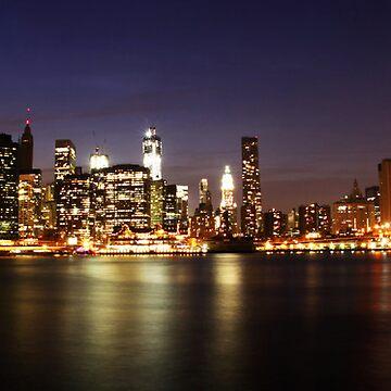 Manhattan Panoramic by parmi