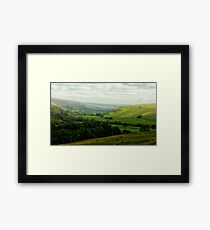 Mist in the Dale Framed Print