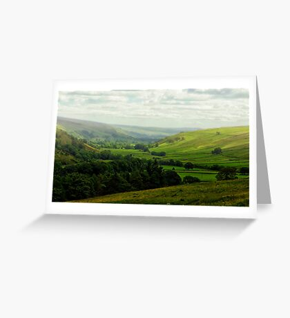 Mist in the Dale Greeting Card